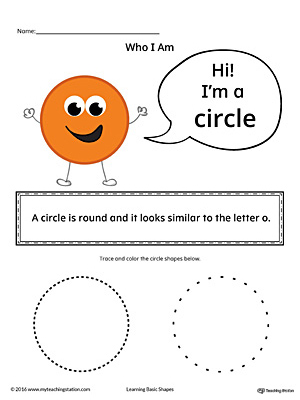 Learning Basic Geometric Shape: Circle (Color)