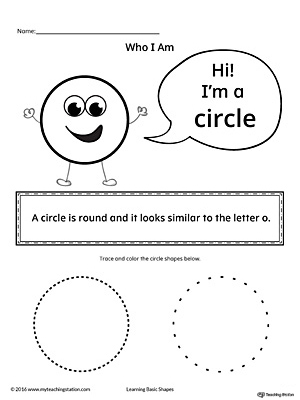 Learning Basic Geometric Shape: Circle