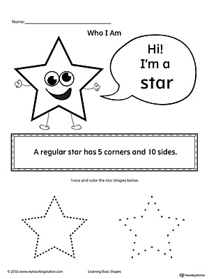 Learning Basic Geometric Shape: Star