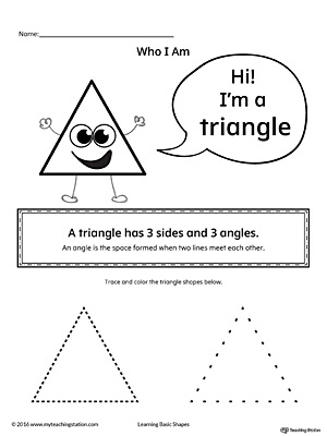 Learning Basic Geometric Shape: Triangle