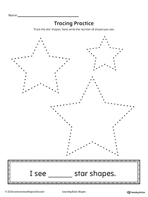 Geometric Shape Counting and Tracing: Star