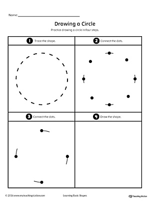 Drawing a Circle Shape