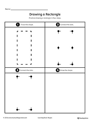 Area of Rectangles Grid Form (A)