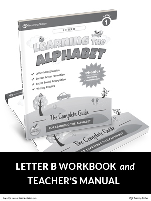 Learning the Alphabet Letter B Workbook