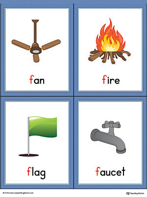 9 letter words starting with f letter f words and pictures printable cards fan 4834