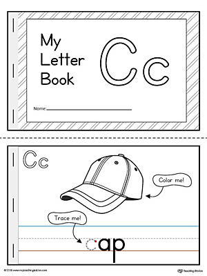 Letter C Mini Book Printable