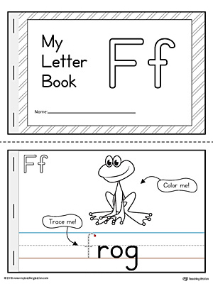 letter f mini book printable myteachingstation com