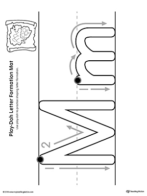writing uppercase letter m myteachingstation