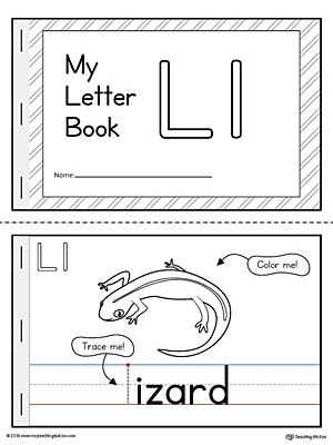 Letter L Mini Book Printable