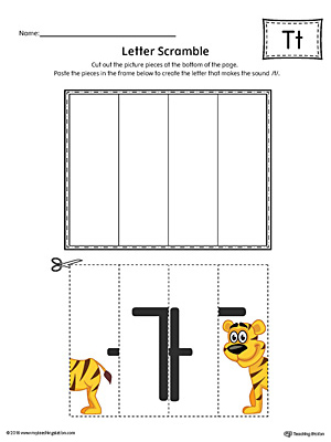Preschool and Kindergarten Worksheets | MyTeachingStation.com