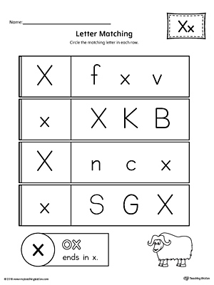 alphabet letter hunt letter x worksheet. Black Bedroom Furniture Sets. Home Design Ideas