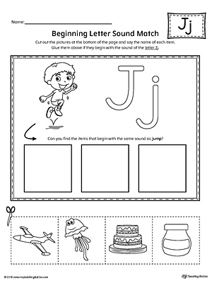 Kindergarten Reading Printable Worksheets | MyTeachingStation.com