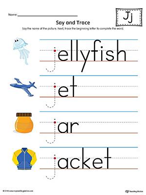 Preschool Phonics Printable Worksheets | MyTeachingStation.com