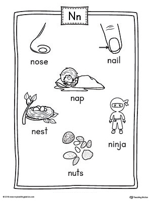 Math Words That Start With The Letter N