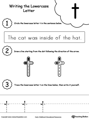 Number Names Worksheets : letter t worksheets for preschool ~ Free ...