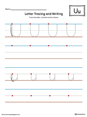 Early Childhood Letters Worksheets Myteachingstation Com