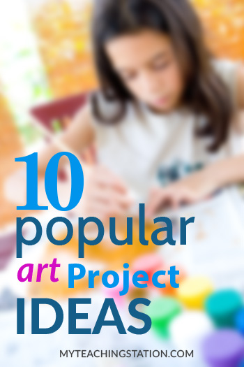 10 Most Popular Art Project Ideas for Kindergarten and Preschoolers
