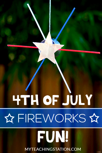 4th of July Fireworks Kids Craft