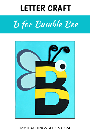 Bee Letter Craft for Letter B