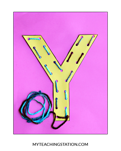 letter y crafts letter y craft yarn myteachingstation 2343