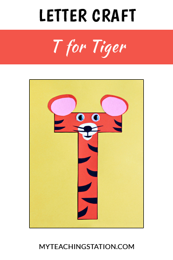 Tiger Letter Craft for Letter T