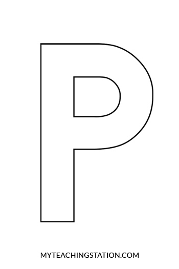 Letter P Titan Northeastfitness Co