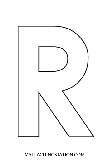 Letter R Craft For Preschool