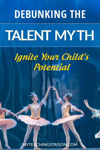 The talent myth and the 10,000 hour rule of practice. Learn how the talent myth affects your child
