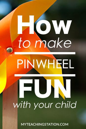 How to create a simple pinless pinwheel
