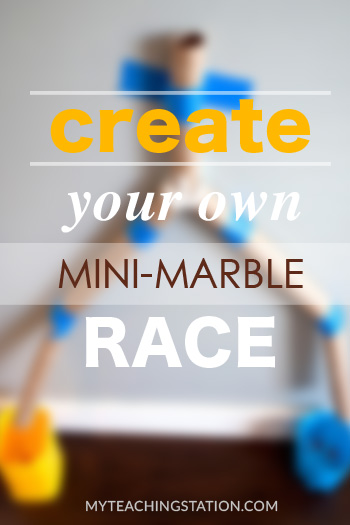 Create a Marble Race with Paper Towel Rolls