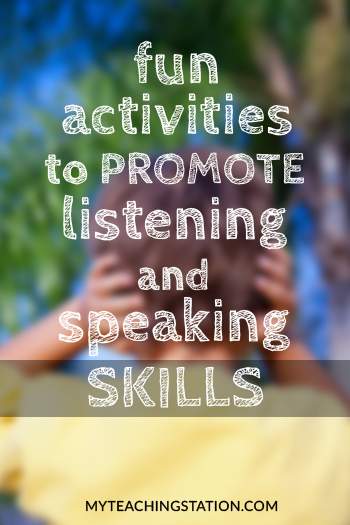 How to Promote Your Child's Listening and Speaking Skills With Fun Activities
