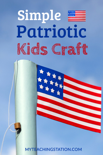 Simple Memorial Day Kids Art Craft