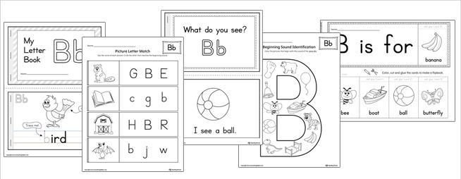 Beginning Letter Sound Worksheets