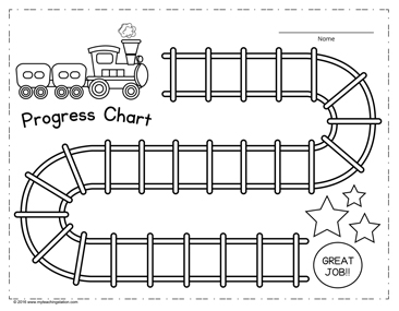 Kids Progress Chart Printable Download