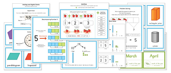 Kindergarten Math Teaching Resources Book