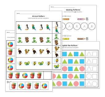Pattern Preschool Worksheets