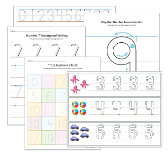 Number Formation and Activities
