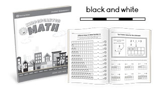 MTS Math Program Kindergarten Sample Lessons in BW