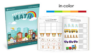 MTS Math Program Preschool Sample Lessons in Color