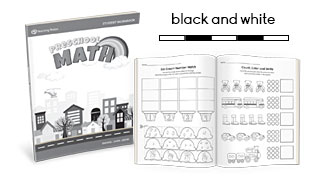 MTS Math Program Preschool Sample Lessons in BW